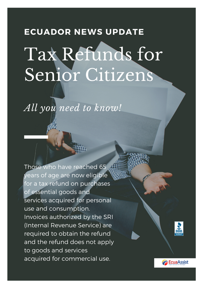 TAX REFUNDS FOR SENIORS