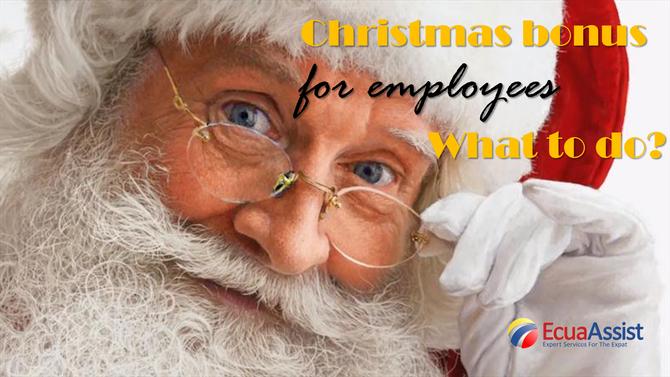EcuaAssist legal tip (Christmas bonus)