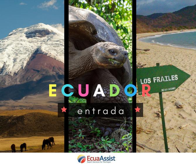 Turismo Ecuador Visa y Seguro de salud... (2018)