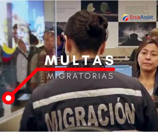 MULTAS MIGRATORIAS ECUADOR (2018)