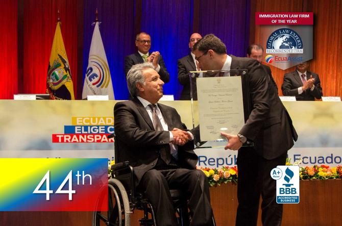 Lenin Moreno - 44th President of Ecuador