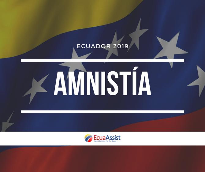 AMNISTÍA CIUDADANOS VENEZOLANOS EN ECUADOR