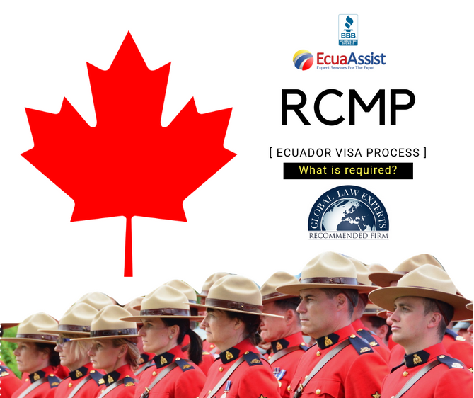 RCMP Background Check, What is accepted?