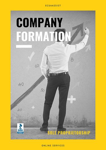SOLE PROPRIETORSHIP COMPANY FORMATION EC