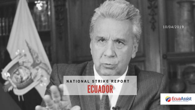 Ecuador Strike Report