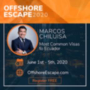 EcuaAssist Offshore Escape - Marcos Chil