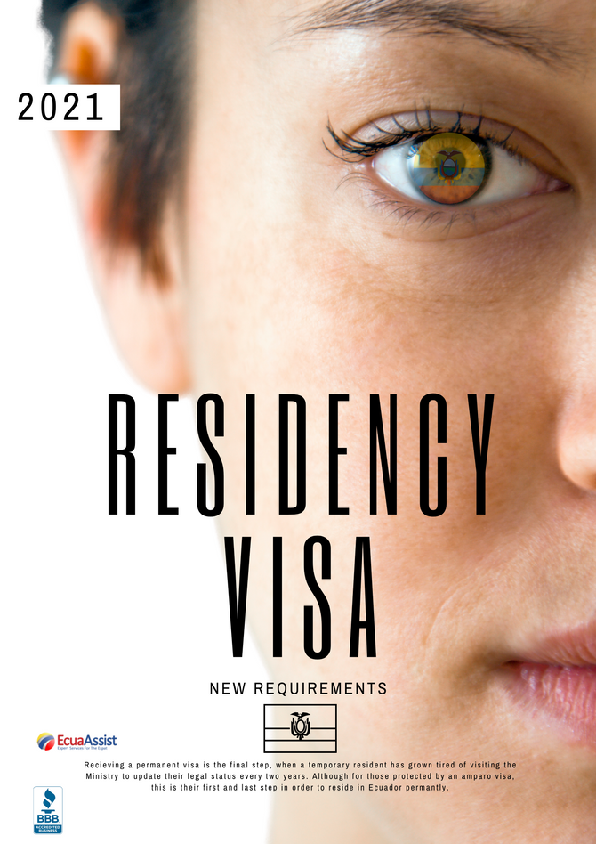 PERMANENT RESIDENCE VISA - NEW REQUIREMENTS (2021)