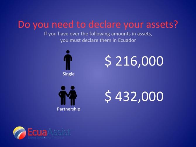 Declaring Assets in Ecuador