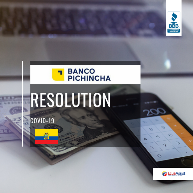 BANCO PICHINCHA DEBTS RELIEF RESOLUTION