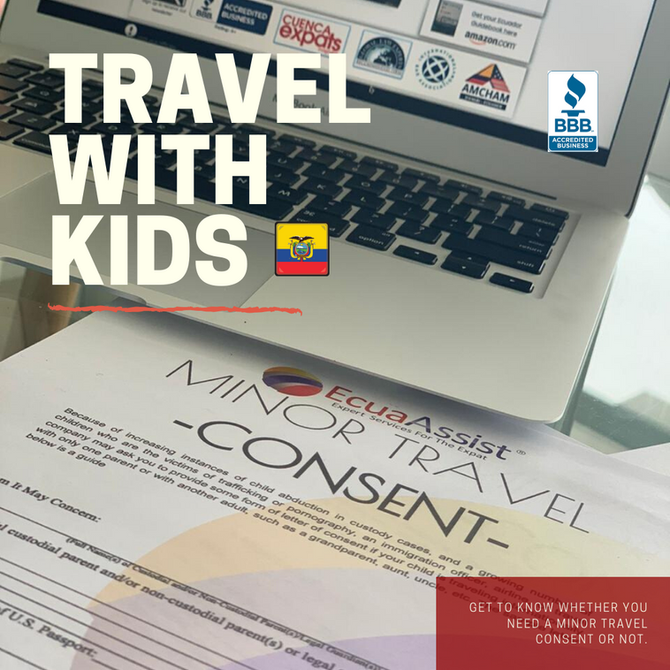ECUADOR: MINOR TRAVEL CONSENT DOCUMENT