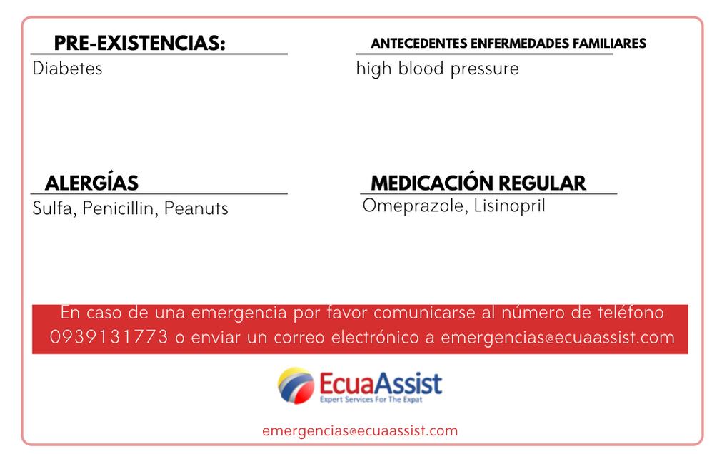 ECUAASSIST EMERGENCY CARD SERVICE