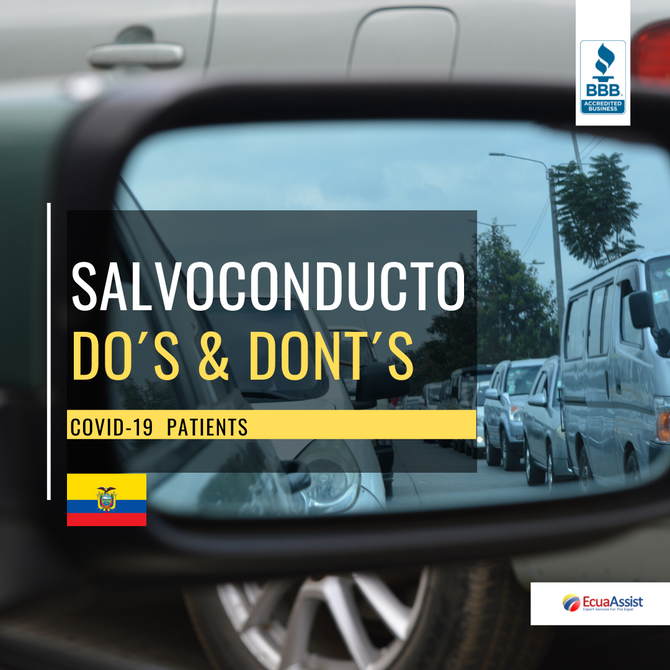 SALVOCONDUCTO COVID-19           DO´S & DONT´S (April 2020 UPDATE)