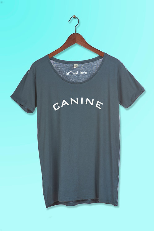 Woman's Over-size Tee - Canine SMALL ONLY