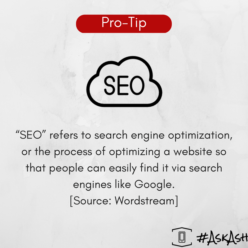 SEO is key to visitors finding your website