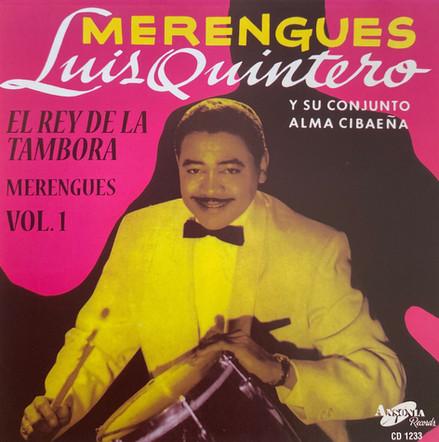 Luis Quintero y su Conjunto Alma Cibaeña / Merengues, Vol. 1