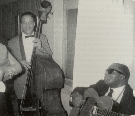 """David F. García's """"Arsenio Rodriguez and the Transnational Flows of Latin Popular Music."""" Arsenio Rodíguez with Raúl Díaz playing bass. Chicago, 1962."""