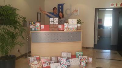 IDU supports The Santa Shoebox Project