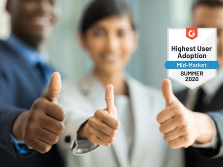 IDU scoops award for Highest User Adoption