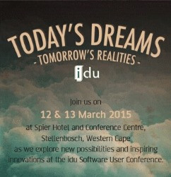 It's that time of year again – IDU's 6th Annual User Conference