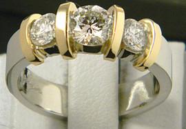three diamond 18k two tone.JPG