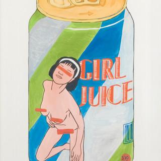 Juice Painting
