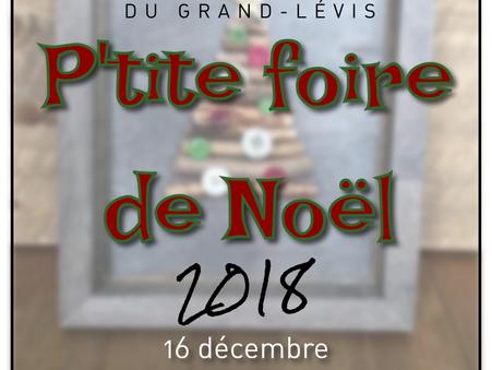 P'tite Foire de Noël 2018
