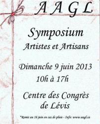 Symposium au Centre des Congrès de Lévis: dimanche le 16 juin prochain