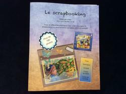 Livre concernant le scrapbooking