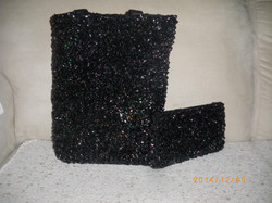 Sacs tricotés avec des tapes