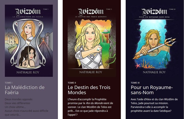 Trilogie de Nathalie Roy