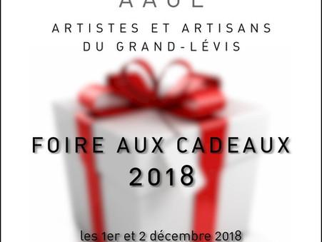 FOIRE aux CADEAUX 2018