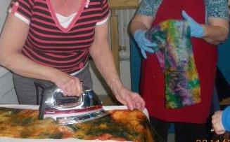 Atelier-foulard de soie