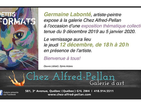 Germaine Labonte: exposition