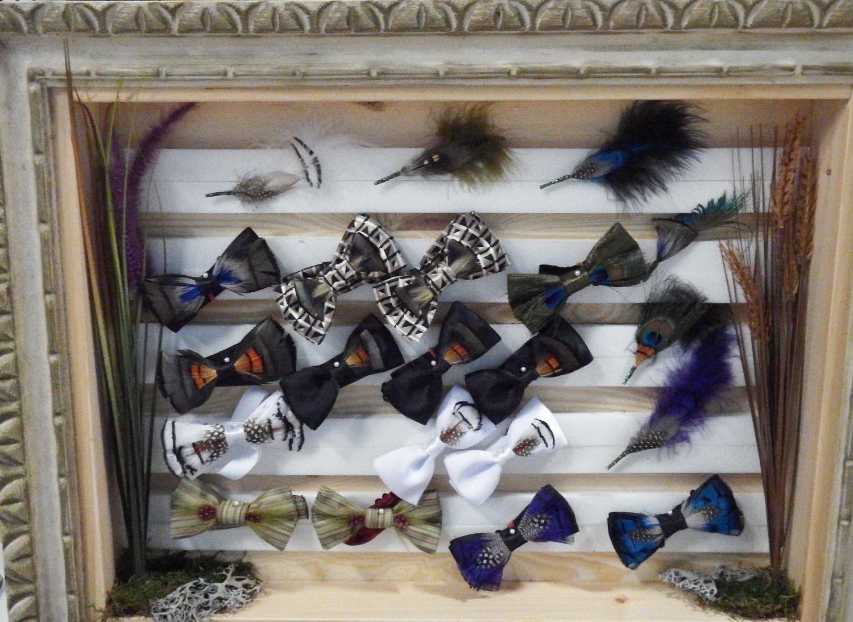 Noeuds en plumes de Daniel Potvin