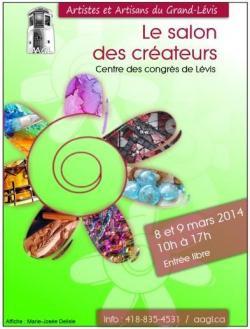 SALON des CRÉATEURS: 8 et 9 mars 2014