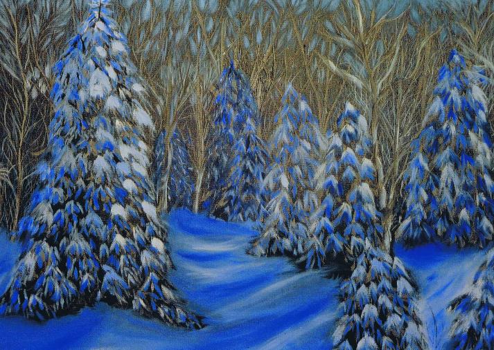 Forêt nocturne