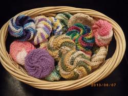 Éponges spirales