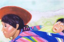 Mère péruvienne