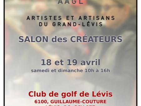 Salon des Créateurs: 18 et 19 avril 2020 (ANNULÉ)
