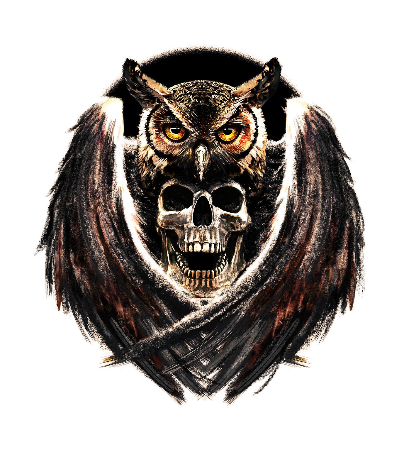 Owlskull • Giovanny Gava