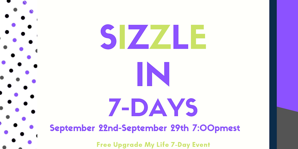 Sizzle in 7: Zoom Room Live