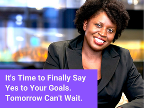 How to leave 525,000 minutes of Regret: 3 Steps to Reach Personal and Professional Goals.