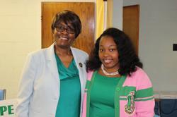 Madame President and Soror Cherrell