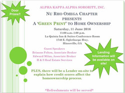 Green Print To Home Ownership