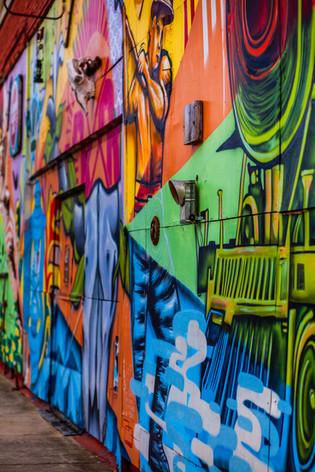 Memphis Grafitti Wall