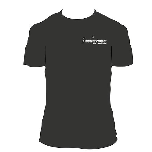 The Forever Project T-Shirt - Black