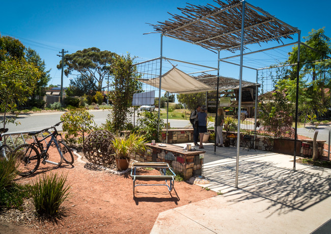 The Peartree Cafe Pop-Up Forest