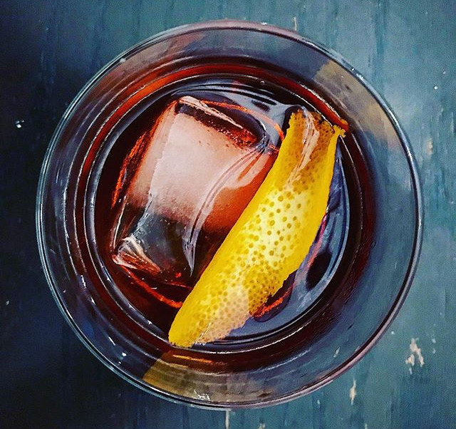 End of the weekend negroni's with _amyog