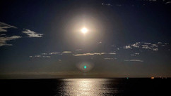 Moonlight over Lake Superior