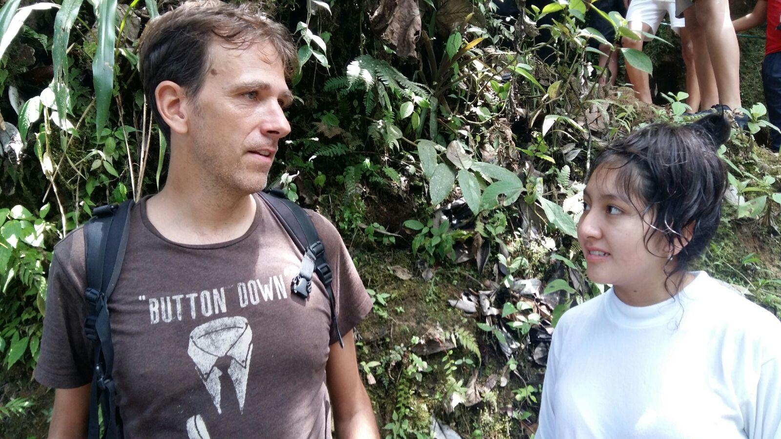 Inglés hablado en Bridford Quito